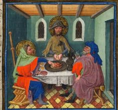 Paintings of medieval pilgrims on a pilgrimage google - Emmaus aix en provence ...