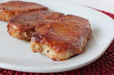 Momma Hen's Kitchen: Honey Garlic Baked Pork Chops