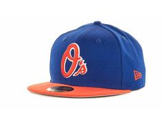 cheaper 59535 419cc Baltimore Orioles New Era MLB 2T Custom 59FIFTY Hats O s hat in Mets  colors. Or