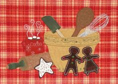 Making Gingerbread People
