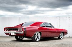 Resto-mod 68' Dodge Charger R/T.