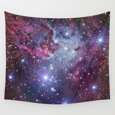 Nebula Galaxy Wall Tapestry by RexLambo - $39.00