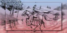 Frau Holle, Odin und die Wilde Jagd