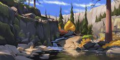 ArtStation - Desolation Wilderness, Isaac Orloff