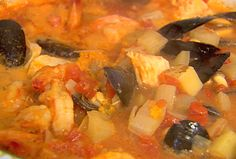 Seafood Stew from FoodNetwork.com--Barefoot Contessa Ina garten