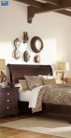 Elegant Palm Court Bedroom Furniture