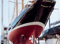 Aschanti IV Schooner  Classic Yacht Classic Yacht Racing Classic Yacht Regatta Management Current Issue March 2018 – The Islander