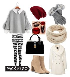 Let's have a warm winter memories by lydiasoong2210 on Polyvore featuring polyvore fashion style Boohoo Yves Saint Laurent Miu Miu Helmut Lang Halogen clothing