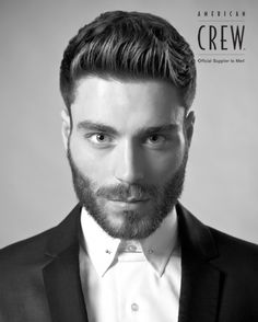 Beard Style Hairstyle Americancrew Dressedup Great