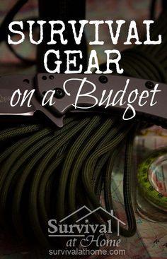 Survival Gear on a Budget via @survivalathome