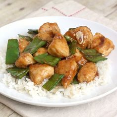 Lighter General Tso's Chicken by Tracey's Culinary Adventures, via Flickr - made 8/21/12. Very good, quick, and easy to make! I doubled the sauce amount, and would recommend doing that so you can have sauce on your rice. - Julie.