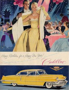 Vintage reklamlar, Cadillac! #love#advertesiment#design#ads