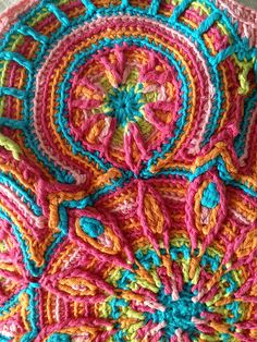 Ravelry: Project Gallery for Crochet Overlay Mandala No. 3, Pattern PDF pattern by CAROcreated design