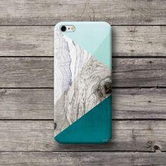Carcasas de móvil - Funda Verde Madera print iPhone 5 5c Galaxy Mini - hecho a mano por michaelcase en DaWanda