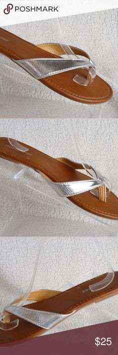 cfc444319 Charming Charlie 🔥 Womens Size 10 Thong Sandals F Charming Charlie 🔥  Womens Size 10 Thong