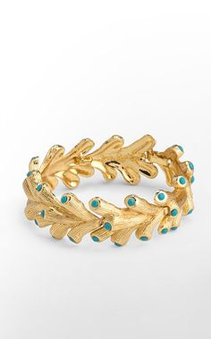 lilly coral hinged bracelet