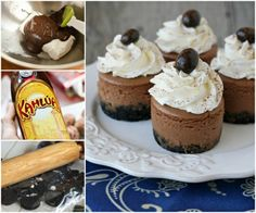 Mini Kahlua Cheesecake Recipe Is Beyond Delicious | The WHOot