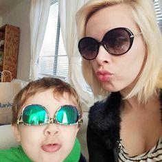 Gratuitous sunglasses selfie with my favorite little man.