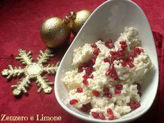 MOUSSE di PARMIGIANO con MELAGRANA, antipasto natalizio