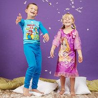 """Kids can dream about their favorite cartoon characters, or they can wear their favorite characters to bed instead. Chock-full of superheroes, princesses and more, this collection of pajama sets and sleepwear promises countless nights of """"Can we get ready for bed now?"""" requests. It's a total win-win for kids and parents alike."""