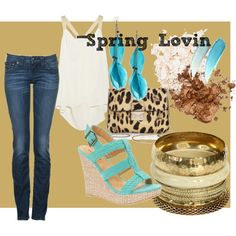Spring Lovin, created by hollymichellegaston on Polyvore