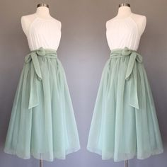 yyAyydyy Sage green chiffon skirt tea length Bridesmaid skirt floor length knee length green chiffon skirt SASH is additional charge shopVmarie 5 out of 5 stars Mode Outfits, Skirt Outfits, Dress Skirt, Dress Up, Midi Skirt, Casual Outfits, Waist Skirt, High Waisted Skirt, Pretty Outfits