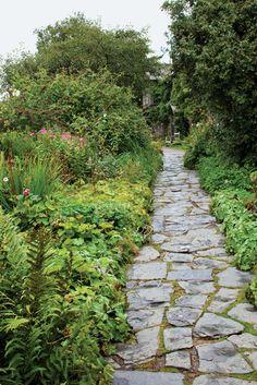 Beatrix Potter's garden path.