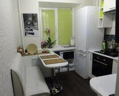 Kitchen Cabinet Design, Kitchen Interior, Home Library Design, House Design, Home 21, Small Apartment Kitchen, Sell My House, Mini Kitchen, Tiny House Living