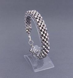 Men's jewelry from nuts  stainless steel bracelet