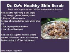 Dr Oz's Healthy Skin Scrub