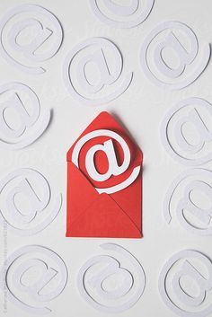 Email :) by CatMacBride | Stocksy United