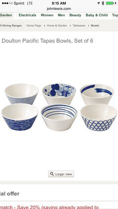 Find this Pin and more on Blue and white.  sc 1 st  Pinterest & Bread Street Tapas Plate Set of 4 | Tapas | Pinterest | 4). Breads ...