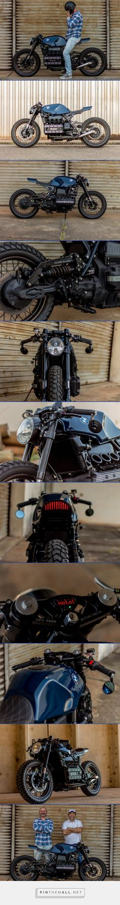 BMW K100 Cafe Racer by Retrorides | BikeBrewers.com - created via https://pinthemall.net