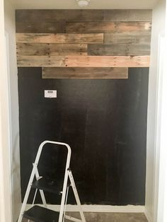 It is so easy to install a pallet wall in your home and this tutorial explains how to do it. The best part is you don't have to break down any pallets!