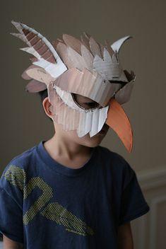 Tweede vogelmasker