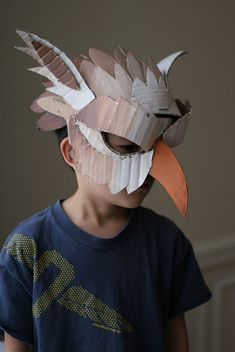 Gryphon mask, painted | Flickr - Photo Sharing!