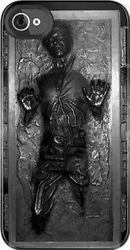 han solo in carbonite i-phone case  Makes me want to get an iphone just for the case.