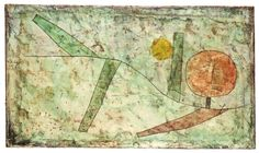 Klee, Paul | Landscape in the Beginning (1935)