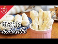 Como fazer biscoito de polvilho assado - Emagrecer Certo