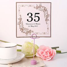Place+Cards+and+Holders+Personalized+Square+Table+Number+Card+-+Splendid+(Set+fo+10)+–+USD+$+5.99