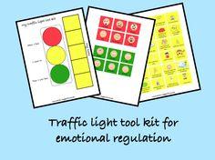 Item 83 - Traffic light tool kit for emotional regulation - Elsa Support