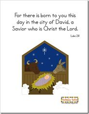 Lots of religious Christmas printables Christmas Crafts For Gifts, Christmas In July, Christmas Themes, Christmas Stuff, Holiday Decorations, Merry Christmas, Xmas, Happy Birthday Jesus, Printable Bible Verses