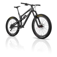 Stealth black with Rockshox Monarch Debon Air