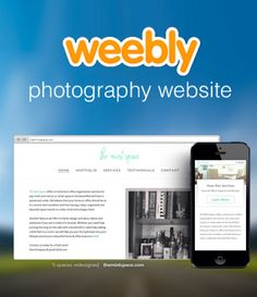 If you are a photographer and want to build a website, Weebly is one of the easiest website builders to use.  Combined with a premium template, Weebly can help you showcase your work. http://www.websitebuilderexpert.com/weebly-for-photographers/
