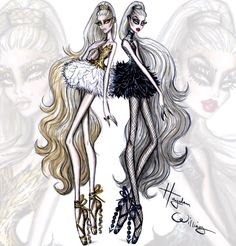 Couture Ballet by Hayden Williams: 'Dual Danseuse'