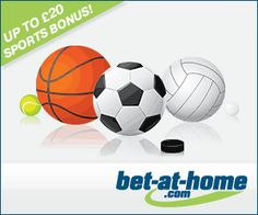 Bet-at-Home Bonus € 50 in free bets - Online games and bets Rugby League, American Sports, Sports Betting, Home Free, Book Making, Online Games, Soccer, Hs Football, Futbol