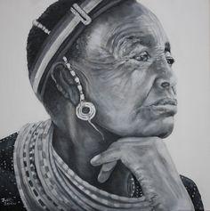 Embedded African Art, Statue, Sculptures, African Artwork, Sculpture