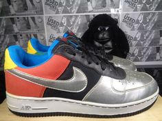 5835db0d8b799e Mens Nike Air Force 1 Olympic Basketball Shoes Size 10 US Vintage  307334-002