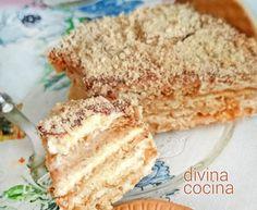 Tarta de galletas portuguesa (Bolo de Bolacha)