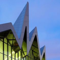 Browse Zaha Hadid's most important buildings on dezeen.com/tag/zaha-hadid  The Glasgow Riverside Museum of Transport, Glasgow, UK, is pictured above. Photography by @huftonandcrow #architecture #ZahaHadid